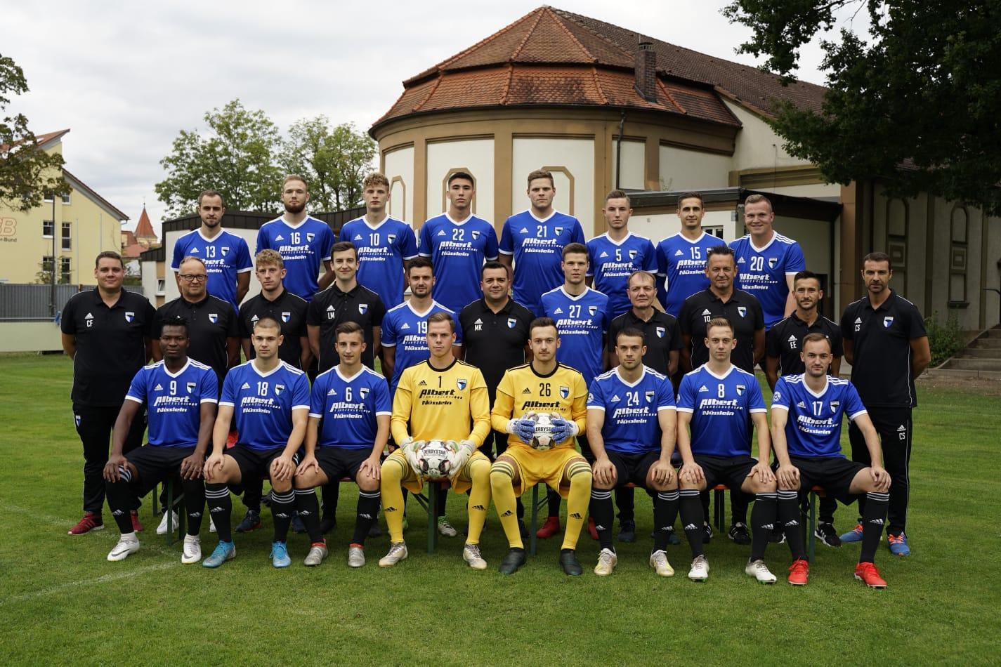 Teamfoto 1. Mannschaft der Saison 2019/2020