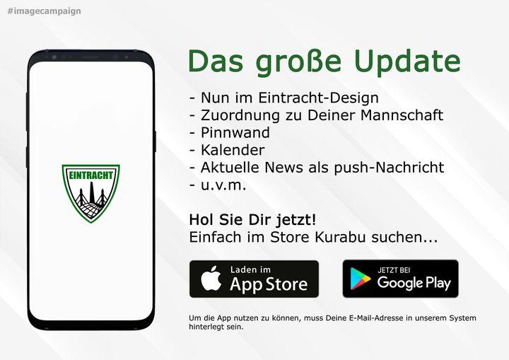Das große Update für unsere App ist draußen!