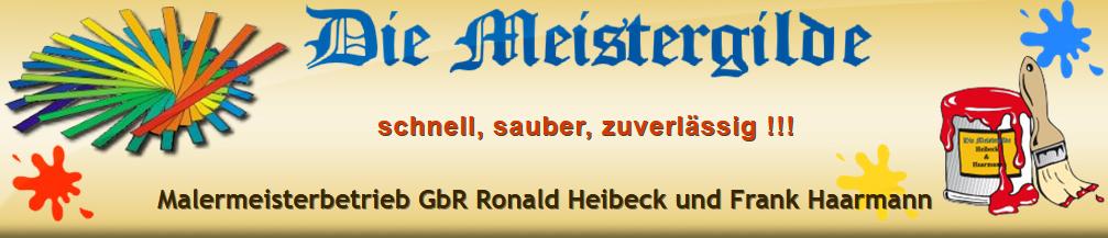 Malermeisterbetrieb Ronald Heibeck und Frank Haarmann