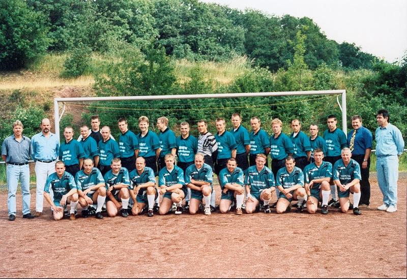 Meistermannschaft der Saison 1997/98